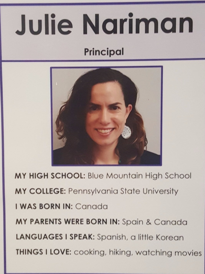 Julie Nariman Principal