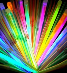 Glow stick photo by julie nariman